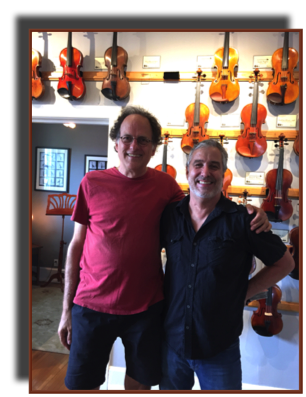 With Fred Carpenter of The Violin Shop in Nashville
