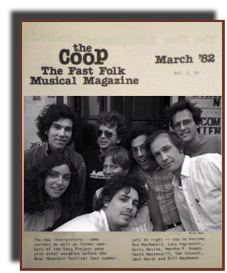 Fast Folk Musical Magazine March 1982